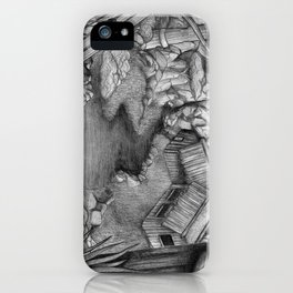 Within ancient ruins iPhone Case