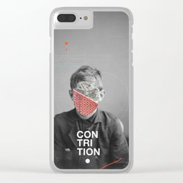 Contrition Clear iPhone Case