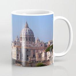 Panorama of Rome and Vatican Coffee Mug
