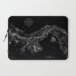 Panama Antique Map Laptop Sleeve