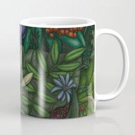 Flower Mask Coffee Mug