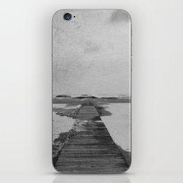 Storm in the beach iPhone Skin