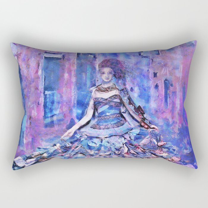 Vibrant mood Rectangular Pillow