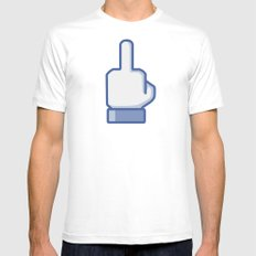 Like THIS Mens Fitted Tee White MEDIUM