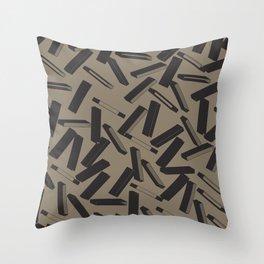 3D X Pattern Throw Pillow