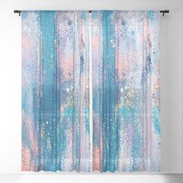 Untitled Swipe Sheer Curtain