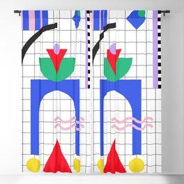 Memphis pattern 88 - 80s / 90s Retro Blackout Curtain