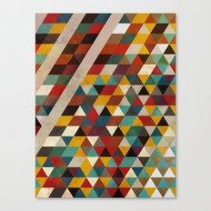 Geometric Flavors Canvas Print