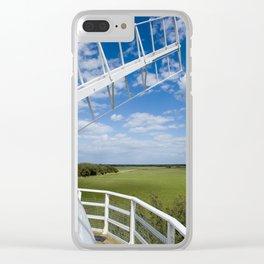 Horsey Windpump - Windmill Clear iPhone Case