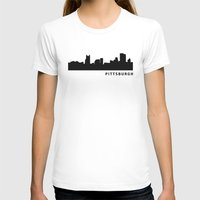 pittsburgh T-shirts featuring Pittsburgh by Fabian Bross