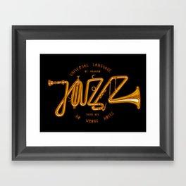 Jazz Trumpet Framed Art Print