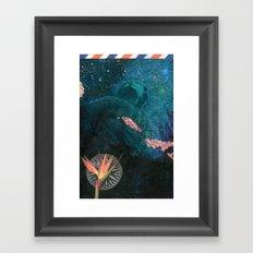 The Figurehead (Anchors Aweigh) Framed Art Print