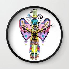 Kachina Butterfy 7 Wall Clock