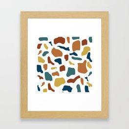 Terrazo Framed Art Print