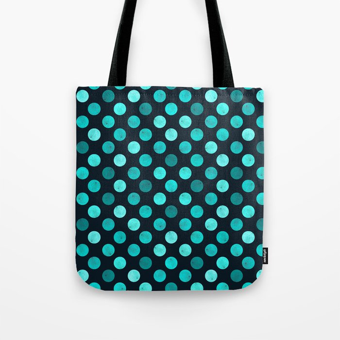 Watercolor Dots Pattern IV Tote Bag