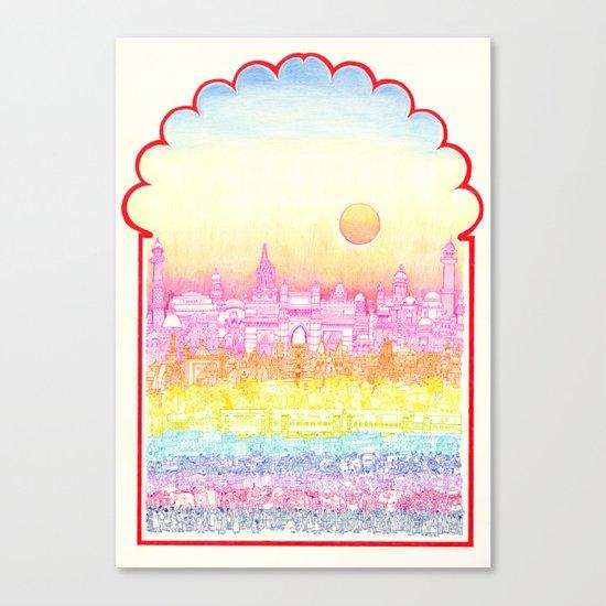 Rangeela India  Canvas Print