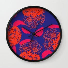 The blue casa Wall Clock