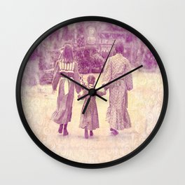 Hold My Hand Wall Clock