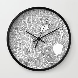 Place of lines Wall Clock