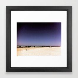 PURPLEWONDER Framed Art Print