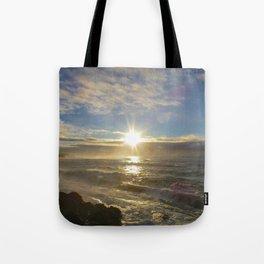 Storm Subsiding Tote Bag