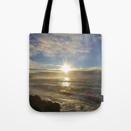 Storm Subsiding Tote Bag