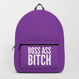 BOSS ASS BITCH (Purple) Backpack