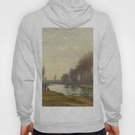 The Petite Bras of the Seine at Argenteuil by Claude Monet Hoody