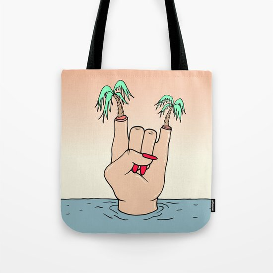 ROCK THE BEACH Tote Bag