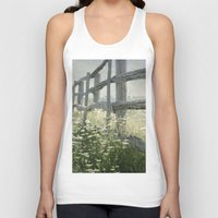 rustic Tank Tops featuring Rustic Fence by Pure Nature Photos