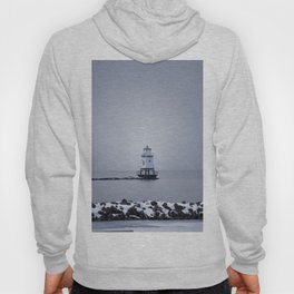 Burlington Breakwater North Lighthouse Hoody