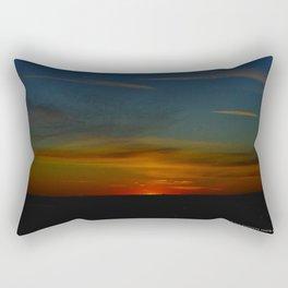 Prairie Sunset #1 (Chicago Sunrise/Sunset Collection) Rectangular Pillow