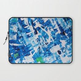 Blue Absract Laptop Sleeve