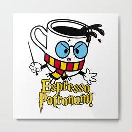 Espresso Patronum 3 Metal Print
