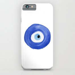 Nazar - Turkish Evil Eye Print iPhone Case