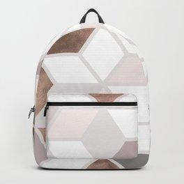 Golden Cubes II Backpack