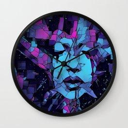 Rock Bottom Wall Clock