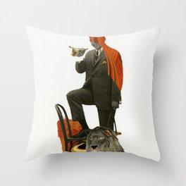 Alpha Throw Pillow