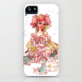 Spring Goddess iPhone Case
