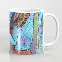 Krishna snake elephant Coffee Mug