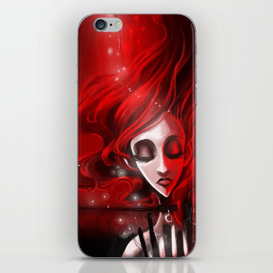 Soaked in Valentine [2013 edition] iPhone & iPod Skin