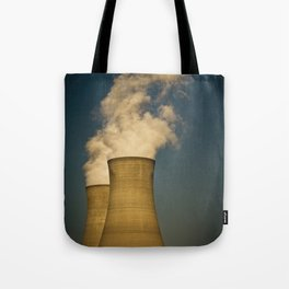 Toxic Towers Tote Bag