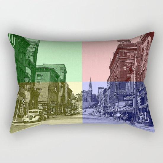 Baltimore St., Cumberland, Md. Rectangular Pillow