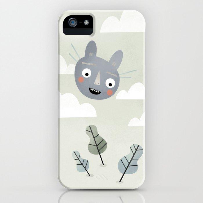 Cat in the Sky. iPhone Case
