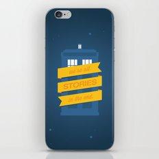 Stories iPhone & iPod Skin