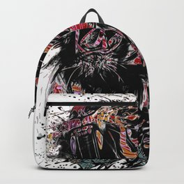The Lion King Colorful Big Cat Face Design Backpack