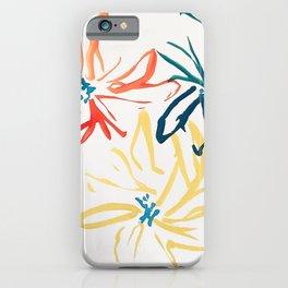 Gestural Blooms iPhone Case
