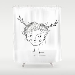 They Came Last Night Shower Curtain