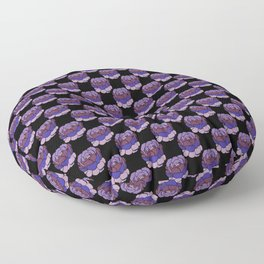 Trippy Cabbage Patch Floor Pillow
