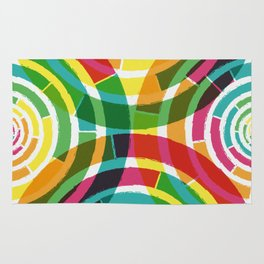 Colorful shouts Rug